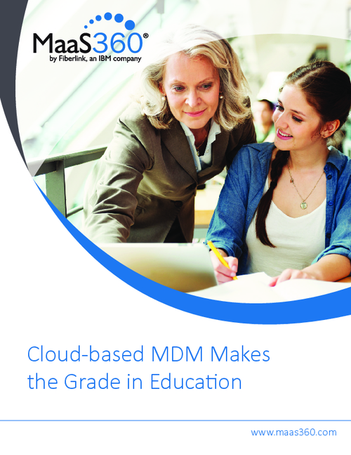 Cloud-based MDM Makes the Grade in Education