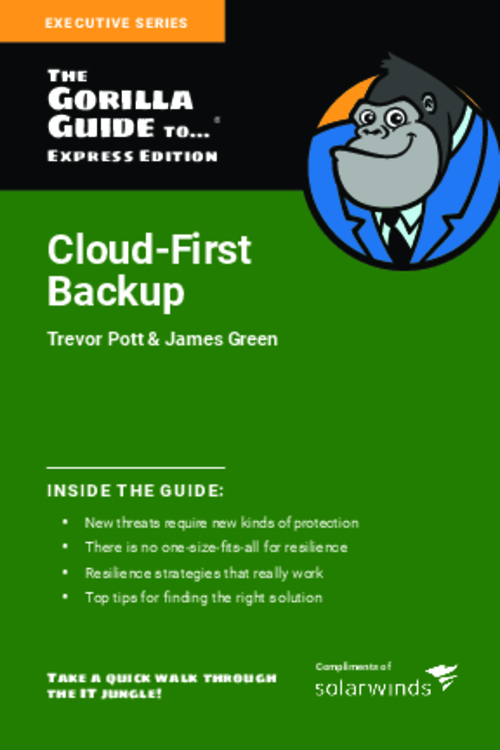 Cloud-First Backup