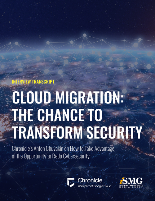 Cloud Migration: The Chance to Transform Security