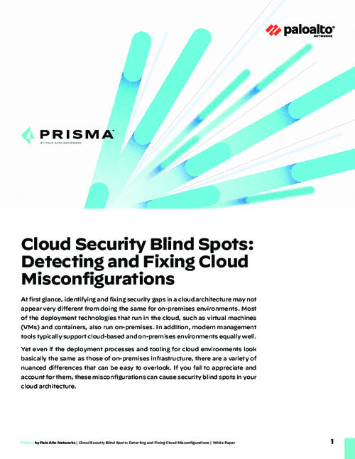 Cloud Security Blind Spots: Detecting and Fixing Cloud Misconfigurations