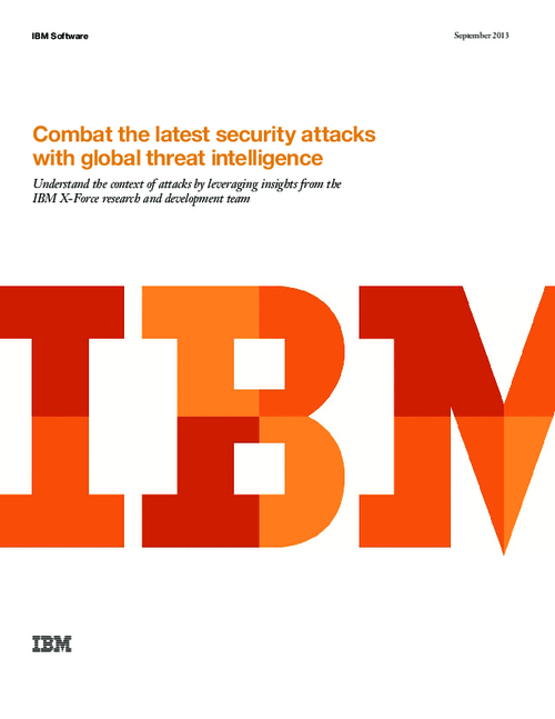 Combat the Latest Security Attacks with Global Threat Intelligence