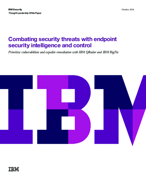 Combatting Advanced Threats with Endpoint Security Intelligence