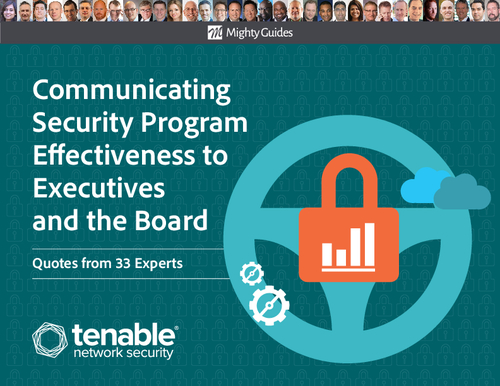 Communicating Security Program Effectiveness to Executives and the Board