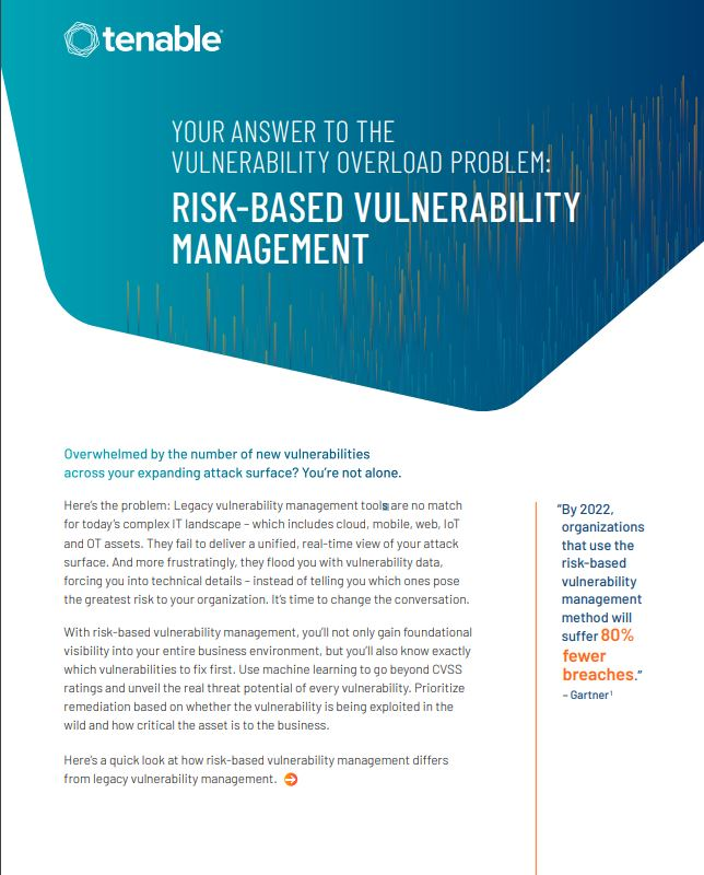 Comparison Guide | Risk-Based Vulnerability Management