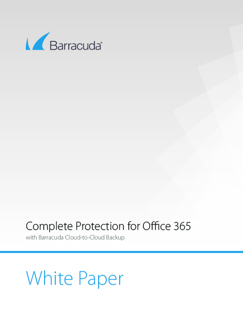 Complete Protection for Your Organization's Office 365