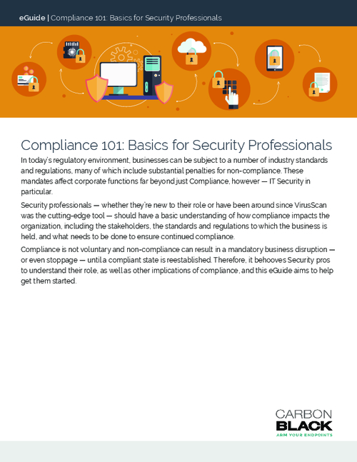 Compliance 101: Basics for Security Professionals