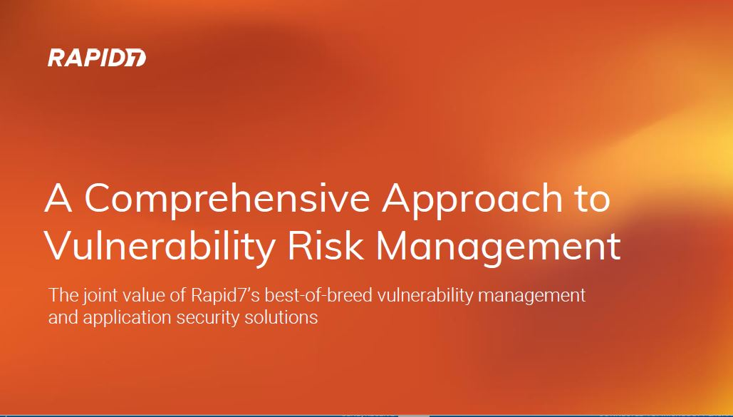 A Comprehensive Approach to Vulnerability Risk Management