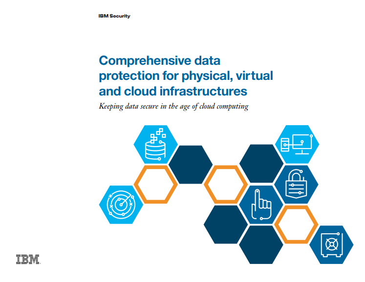 Comprehensive Data Protection for Physical, Virtual and Cloud Infrastructures