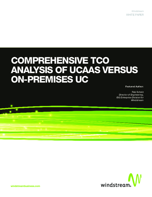 Comprehensive TCO Analysis of UCaaS Versus On-Premises UC