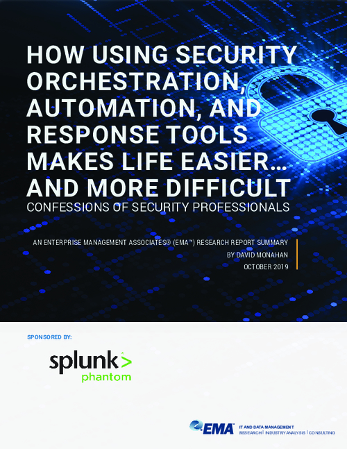 Confessions of Security Professionals on Security Orchestration, Automation, and Response (SOAR) Tools