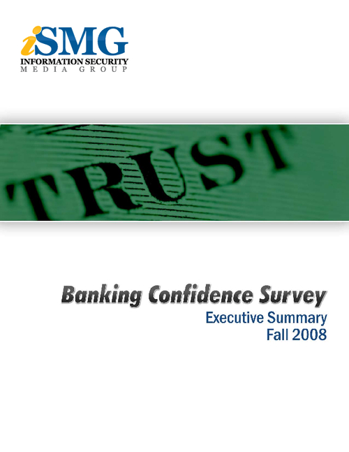 Confidence in Banking Survey Results - Executive Summary