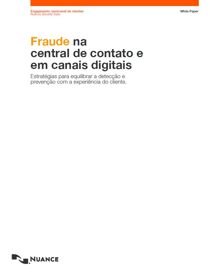 Contact Center Fraud Prevention Strategies (Portuguese Language)