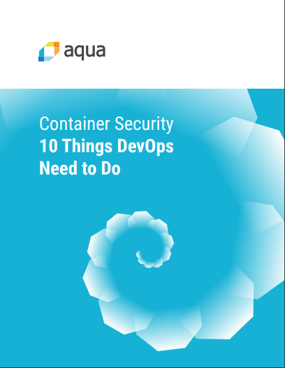 eBook: Container Security: 10 Things DevOps Need To Do
