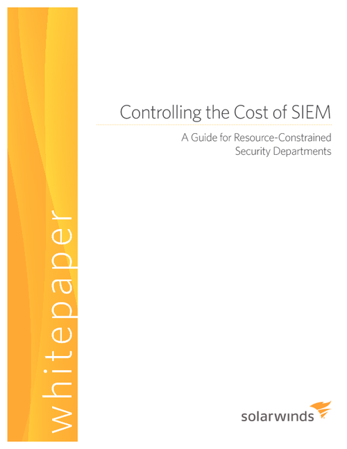 Controlling the Cost of SIEM