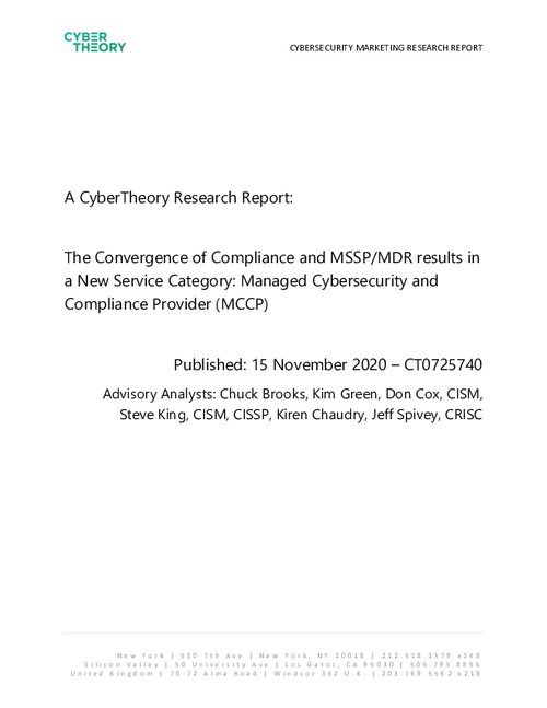 The Convergence of CMMC and MSSP/MDR Results in a New Service Category: Managed Cybersecurity and Compliance Provider (MCCP)