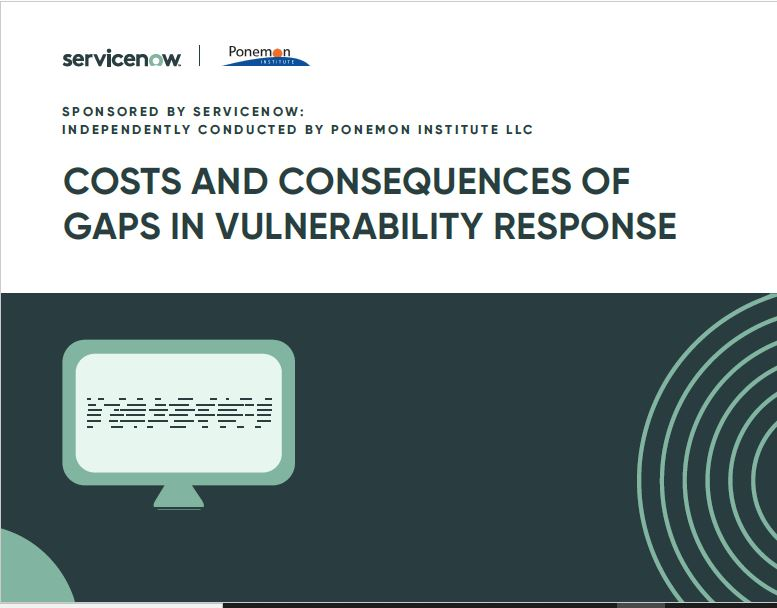 Costs and Consequences of Gaps in Vulnerability Response
