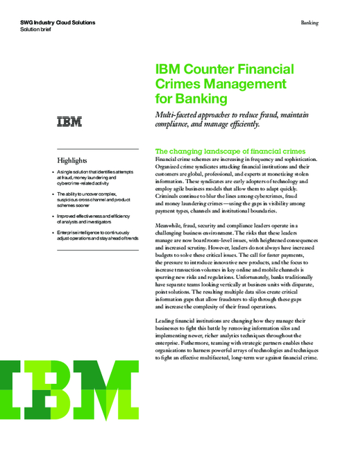 Multi-faceted Approach to Reduce Fraud, Maintain Compliance and Manage Efficiently