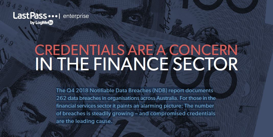Credentials Are A Concern In The Financial Sector