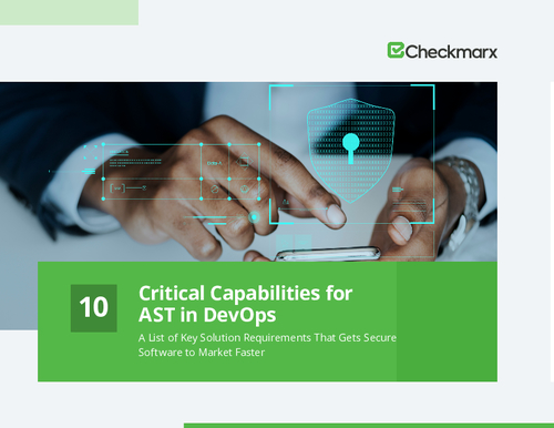 10 Critical Capabilities for AST in DevOps