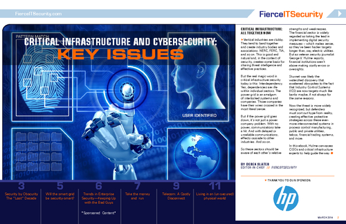 Critical Infrastructure And Cybersecurity Ebook