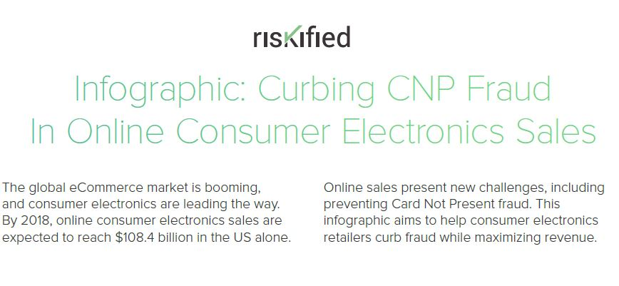 Curbing CNP Fraud in Online Consumer Electronics Sales
