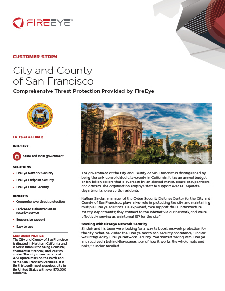 Customer Story: City and County of San Francisco
