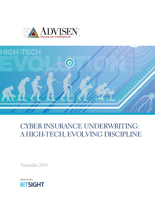 Cyber Insurance Underwriting: A High-Tech, Evolving Discipline