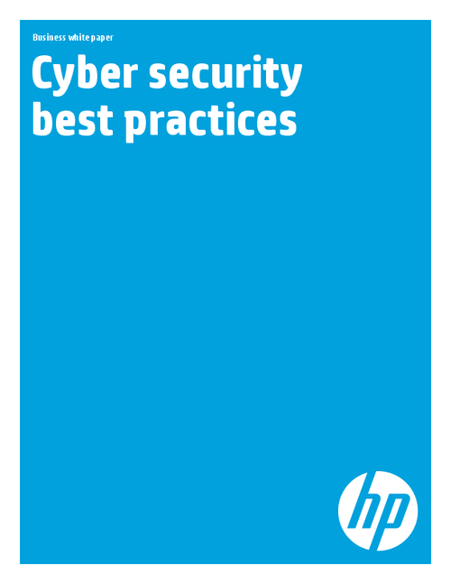 Security Best Practices (Ciso White Paper)