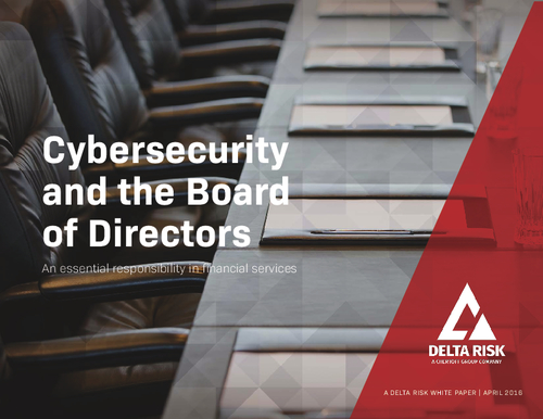Cybersecurity and the Board of Directors