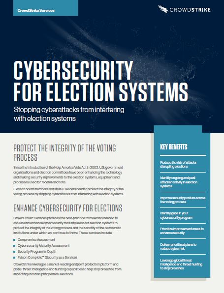 Cybersecurity for Election Systems