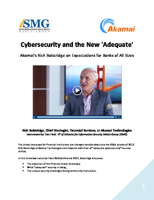 Cybersecurity and the New 'Adequate'