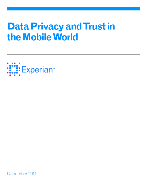 Data Privacy and Trust in the Mobile World