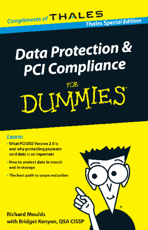 Data Protection & PCI Compliance for Dummies
