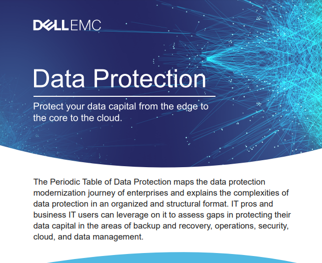 Data Protection Protect Your Data Capital From The Edge of the Core to the Cloud