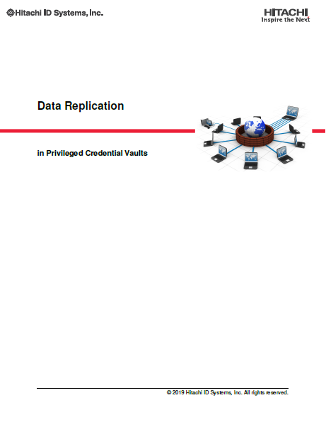 Data Replication in Privileged Credential Vaults