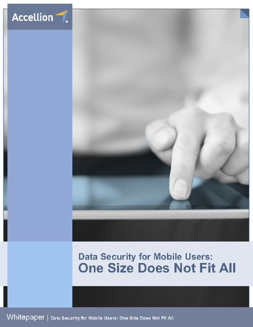 Data Security for Mobile Users: One Size Does Not Fit All