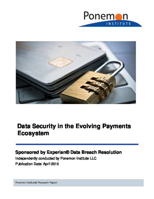 Data Security in the Evolving Payments Ecosystem