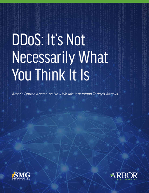 DDoS: It's Not Necessarily What You Think It Is