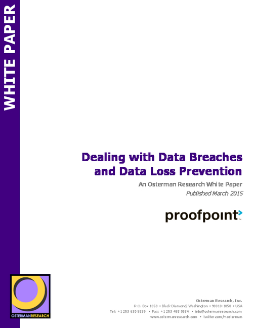 Dealing with Data Breaches and Data Loss Prevention