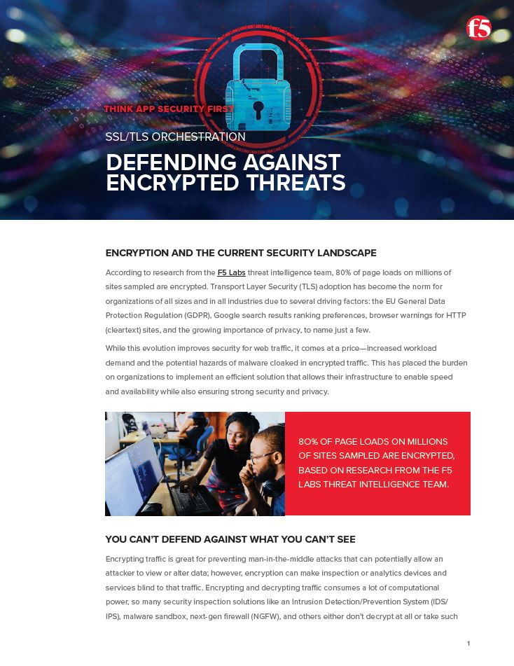 Defending Against Encrypted Threats