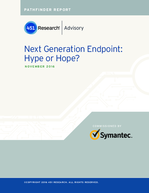 Next Generation Endpoint: Hype or Hope?