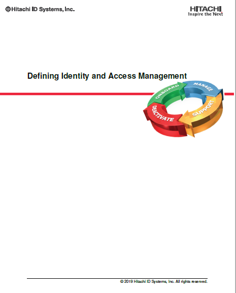 Defining Identity and Access Management