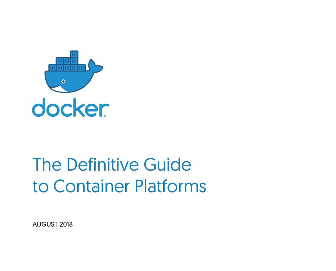 The Definitive Guide to Container Platforms