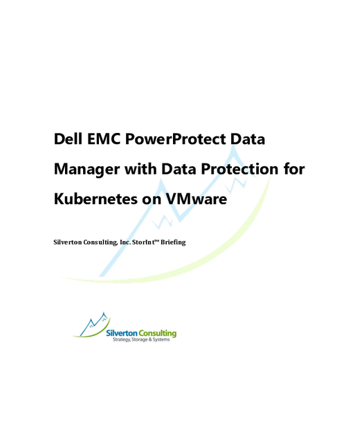 Dell EMC PowerProtect for Kubernetes