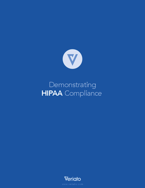 Demonstrating HIPAA Compliance