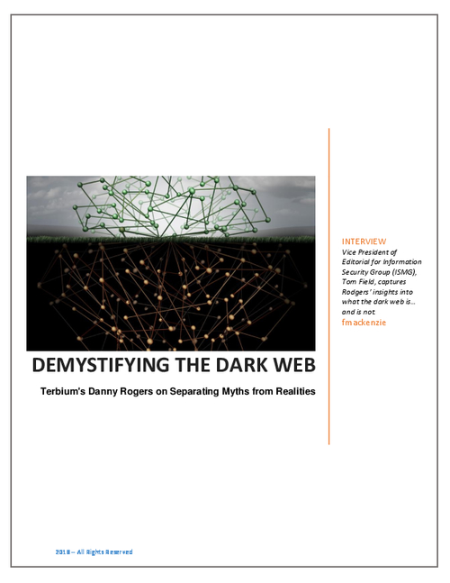 Demystifying the Dark Web