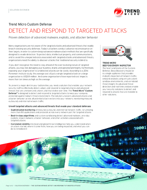 Detect and Respond to Targeted Attacks