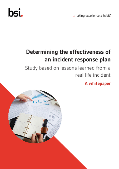 Determining the Effectiveness of an Incident Response Plan