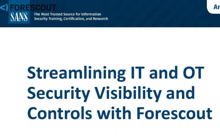 Device Visibility and Control: Streamlining IT and OT Security