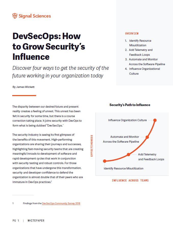 DevSecOps: How to Grow Security's Influence